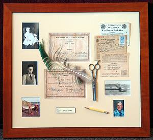 Allow our experts to help you design custom matting and a frame to display your treasured memories.