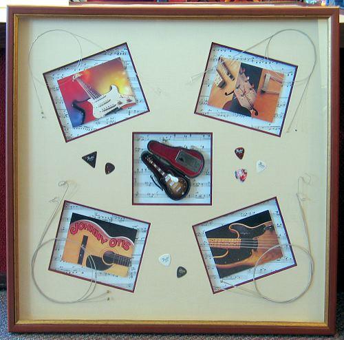 custom matting and frames create an extraordinary display